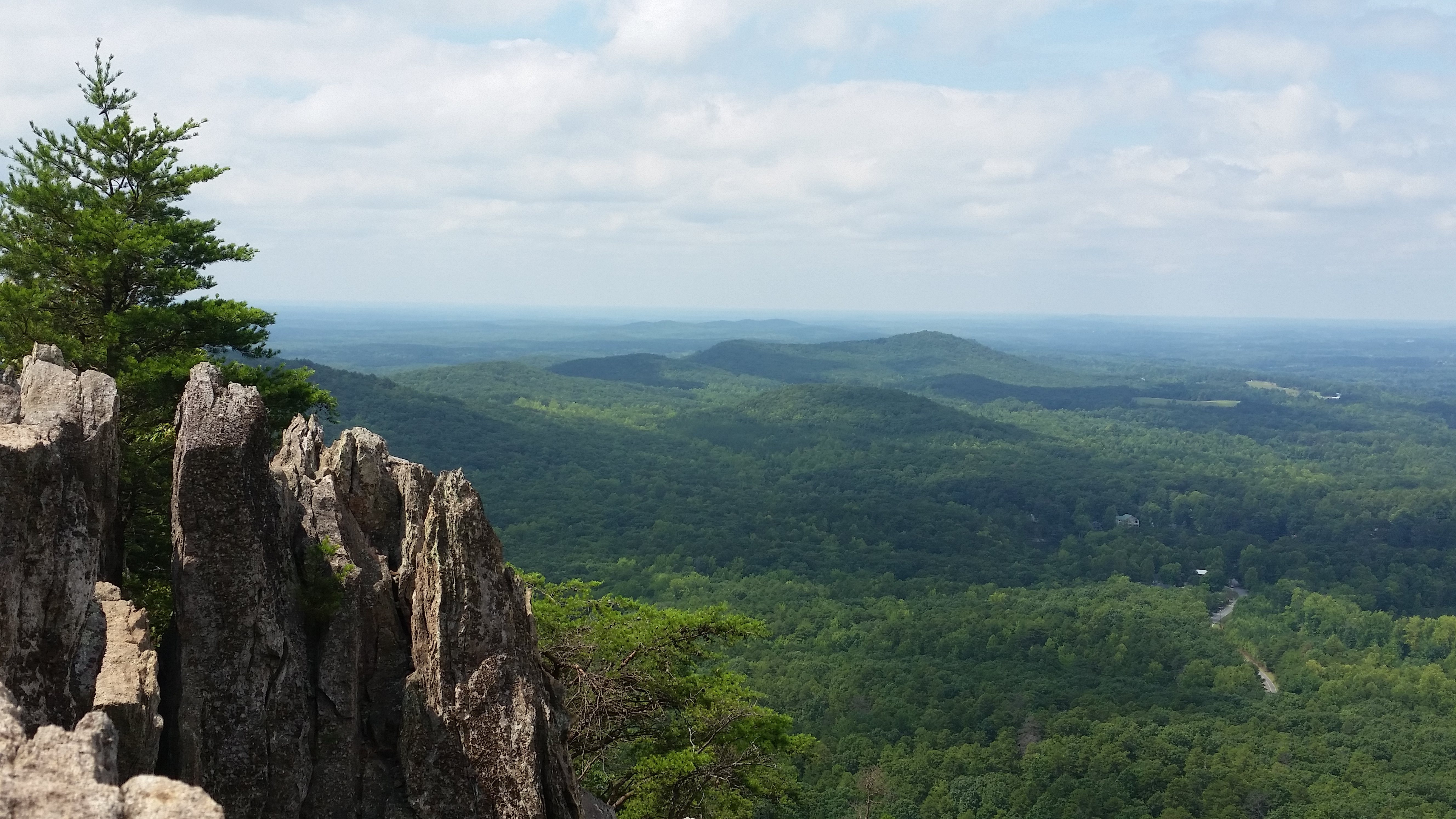 how tall is crowders mountain